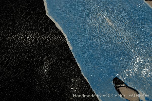 Da cá đuối Volcano Leather