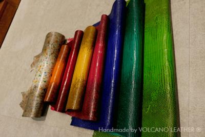 Da kỳ đà Volcano Leather