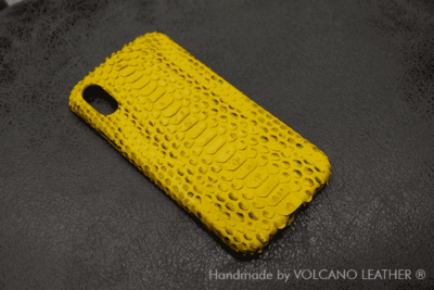 Ốp lưng Iphone da trăn Volcano leather