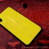 Ốp lưng Iphone da cá đuối Volcano leather