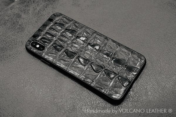 Ốp lưng Iphone da cá sấu Volcano leather