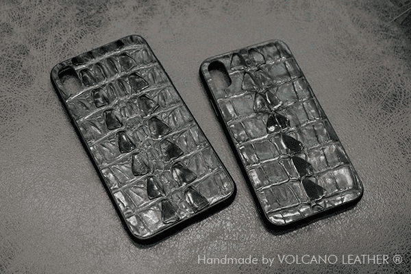 Ốp lưng Iphone da cá sấu Volcano leather