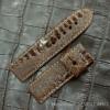 Dây đồng hồ Panerai da chân đà điểu Volcano leather