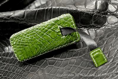 Bao da Nokia 8800 Da cá sấu Volcano leather