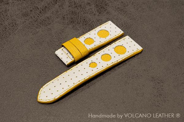 Dây đồng hồ DA BÒ Volcano leather