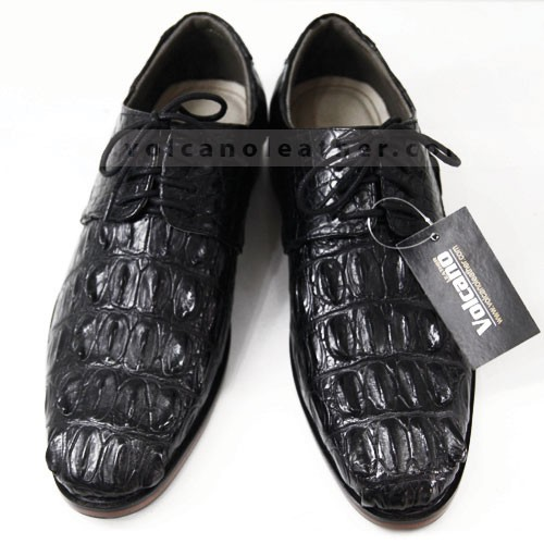 Giày nam da cá sấu CS004