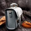 Túi xách da bò Phấn TXB002
