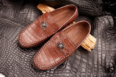 Giày nam da cá sấu