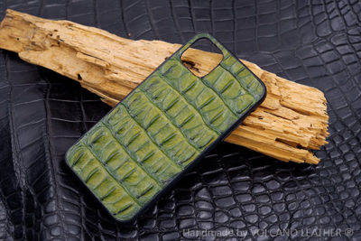 Ốp lưng da cá sấu Iphone 11