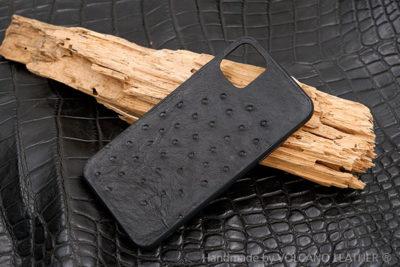 Ốp lưng da cá sấu Iphone 11 Pro Max đà điểu