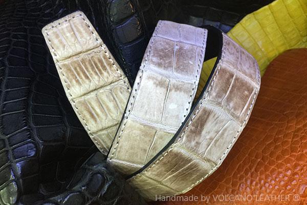 Thắt lưng da cá sấu Himalayan