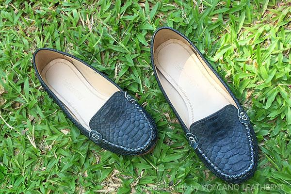 Giày nữ da trăn